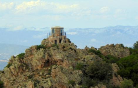 Vedetta Montiferru, Cardedu, immagine panoramica da foto di Giovanni Lotto