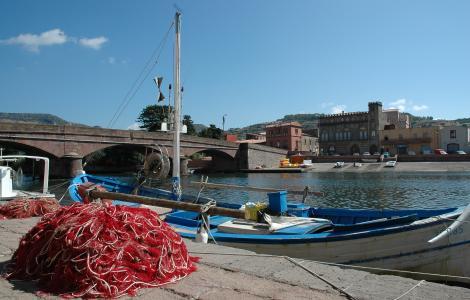 Bosa, fiume Temo - Foto Sardegna Digital Library