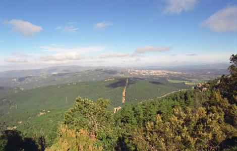 Panorama da Punta Bandera