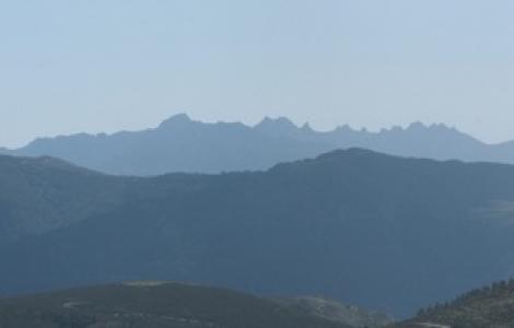 I Sette Fratelli visti da Monte Genis