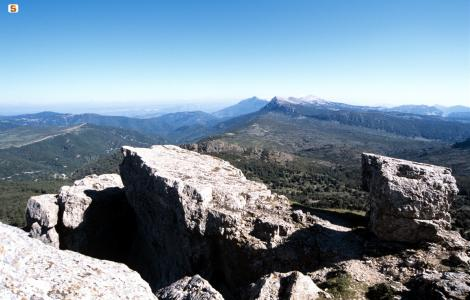 Montes, panorama dal Monte Novo San Giovanni