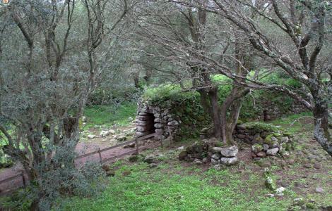 Paulilatino, Santa Cristina - capanna nuragica