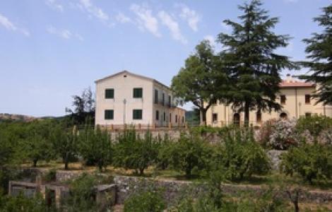 Panorama dell'edificio storico di Fiorentini