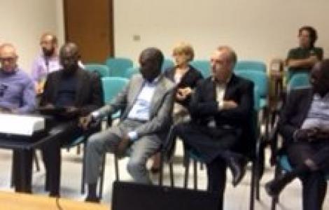 un momento della visita della delegazione Senegalese al Servizio territoriale di Oristano