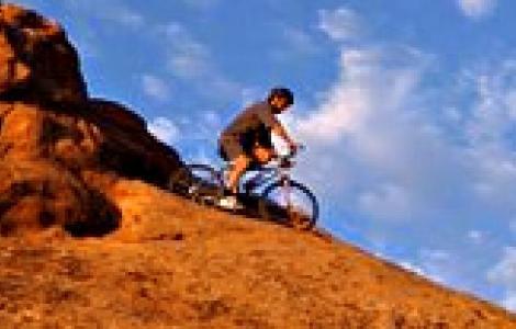 Escursione in mountain bike