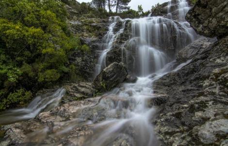 Cascata tra i Tacchi d'Ogliastra (foto C.Mascia)