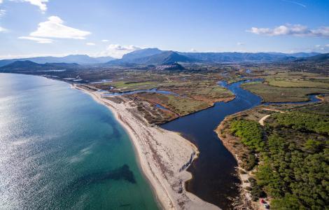Il Delta del Rio Posada (credits: progetto acqua e fuoco)