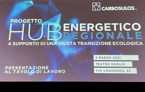 Presentazione progetto Hub energetico regionale