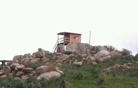Vedetta s.pietro tra Luras e lu sfussatu (foto L.Biddau)