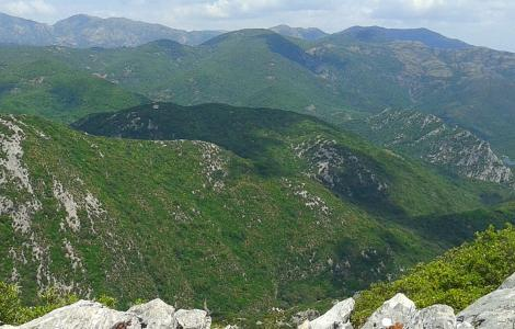 Marganai, panoramica delle cime (foto Alessio Saba)