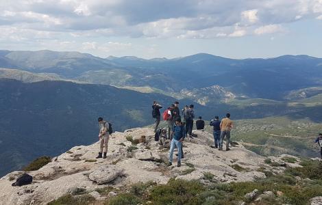 Studenti di Palermo in visita alle foreste sarde
