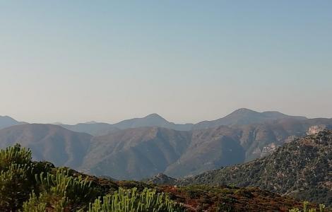 Genne argiolas(San Vito) vista da Stalladoxiu Armungia (foto S. Cabitza)