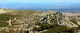 Vista dal versante est di Monte Urtigu