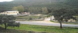 vista del vivaio di Pampana presso Bortigiadas
