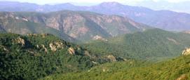 panoramica sui monti di Siliqua