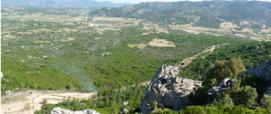 Panoramica Pedra Bianca e M. Nieddu (Padru)