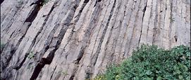 Basalti colonnari di Guspini, Guspini