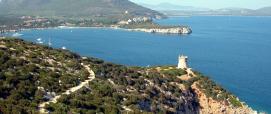 Alghero, Capo Caccia_torre del Bollo, Monte Timidone