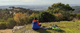 Foresta Campidano, sguardo sul CEAS e sul golfo di Cagliari