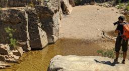 Le piscine di Faneuas: una delle tappe del sentiero 205