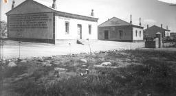 Foto storiche - casermette forestali anni '40 presso Tempio Pausania, Vallicciola