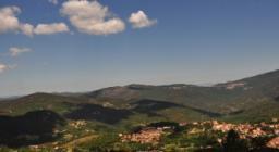 Vista panoramica di Aritzo