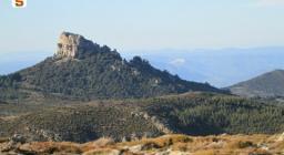 Monte Novo San Giovanni, visto da Talana
