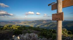 sentiero 210 -Panorama a Monte Maxia