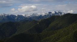 Panorama di Monte Cresia e Sette Fratelli