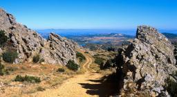 Montes, panorama da Sas Praneddas