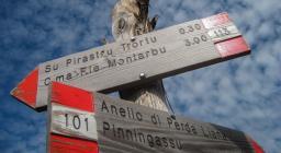 Anello Perda Liana,  sentiero 101