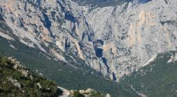 Gola di Gorruppu vista da UGB Silana