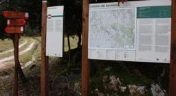 sentiero presso la FD Funtanamela