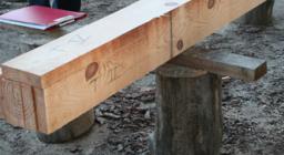 dettaglio segati legno