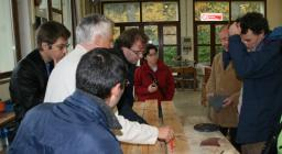PROGETTO LEGNO visita dei rappresentanti universitari  alla segheria
