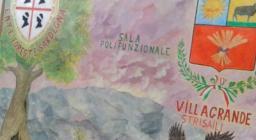 Particolare della sala polifunzionale di Luas - Villagrande