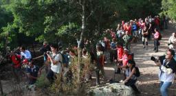 Partecipanti alla manifestazione Montimannu