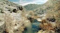 Pattada, nevicata a Monte Lerno