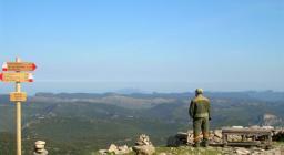 Montarbu, vista da uno dei sentieri escursionistici  (da Digital Library)