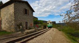 Montarbu, la vecchia stazione di Anulu  (da Digital Library)