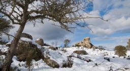 Monte Cresia con la neve