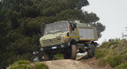 Mezzo per la Protezione Civile - Mercedes Unimog