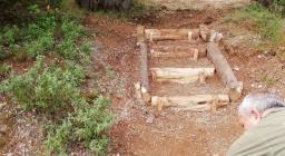 sistemazione scalinata