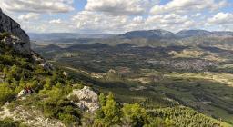 Monte Tuttavista e vallata del Cedrino
