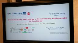 Presentazione Forestas in web conference
