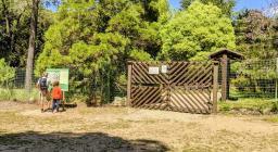 L'ingresso del Giardino Botanico di Maidopis, Settefratelli
