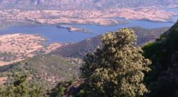 Lago Posada dalla vedetta di Lodè (foto L.Sanna)