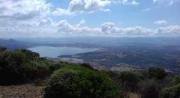 M.Nieddu Tula, vista lago Coghinas (foto T.Zidda)