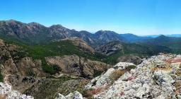Panorama alta via n.100 verso sud est