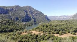 Panoramica della Valle de Cedrino nei pressi della S.P. 38 (foto Giusy Doneddu)